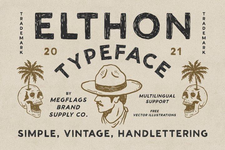 Elthon Typeface