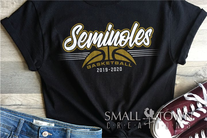 Seminoles, Basketball, Sport, Design, PRINT, CUT, DESIGN