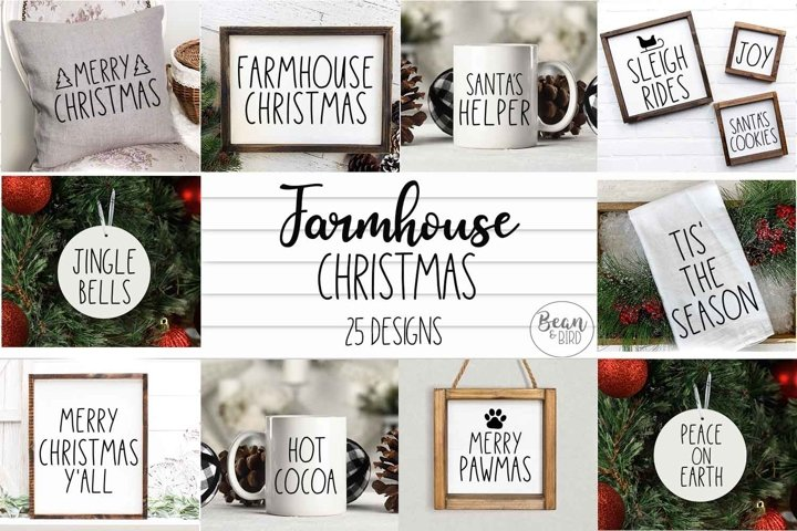 Farmhouse Christmas Bundle
