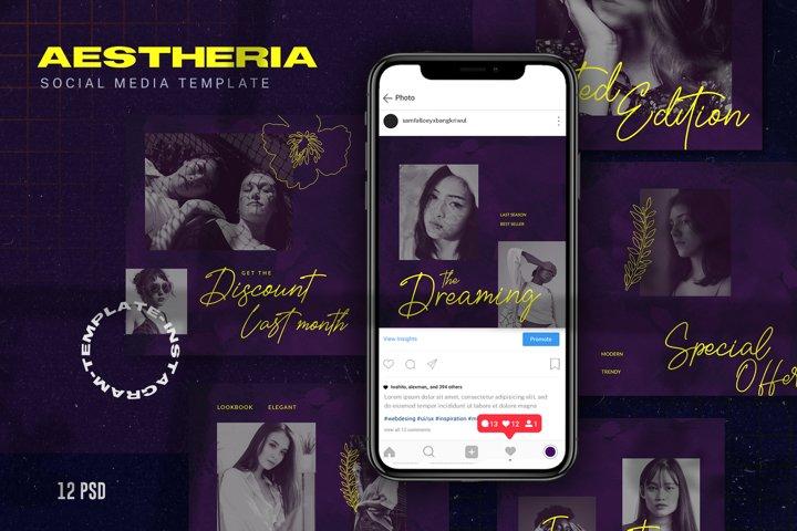 Aestheria Social Media Template