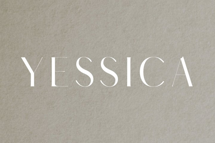 Yessica Sans Serif Font Family - Free Font of The Week Font