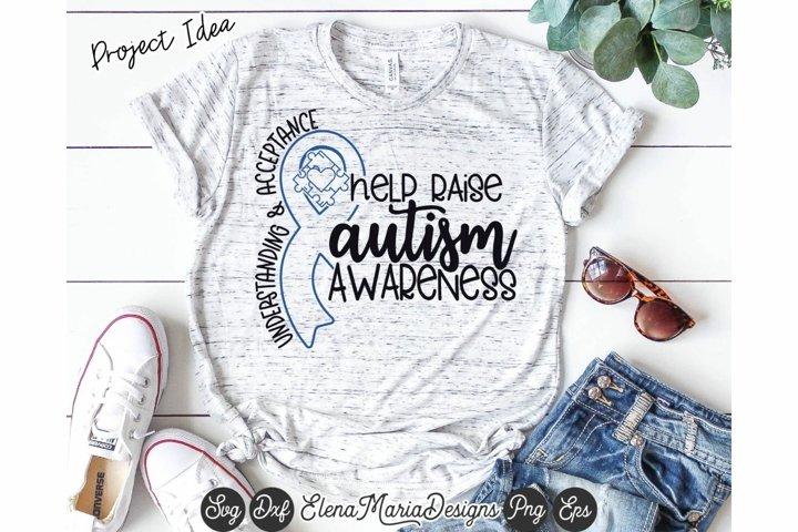 Autism Awareness Svg | Understanding and Acceptance