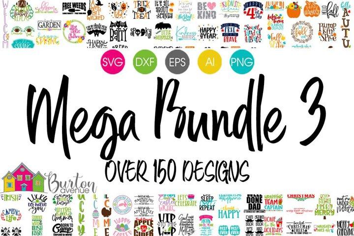 SVG Bundle | BA Mega Bundle 3 for Cricut & Silhouette