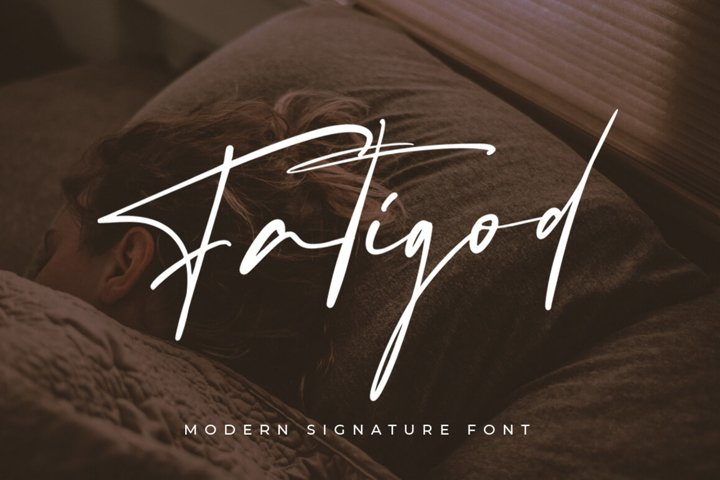 Fatigod - Luxury Script
