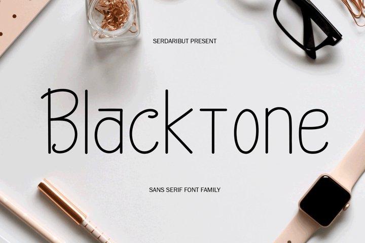 Blacktone Family example