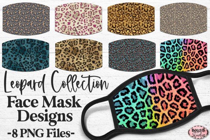 Leopard Print - Sublimation Face Mask Designs