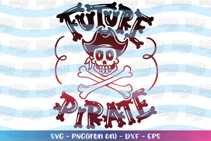 Pirates svg Future Pirate