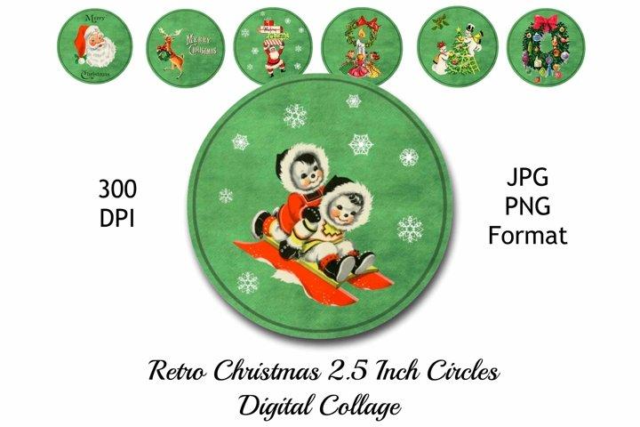 Retro Christmas Printable Gift Tags