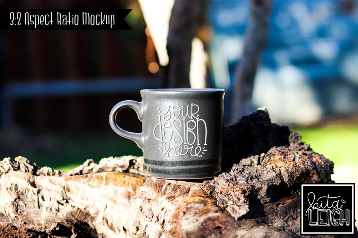 Camping Morning Coffee Mug Mockup