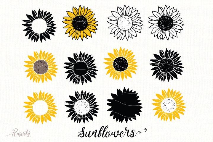 Sunflower Monogram Frames