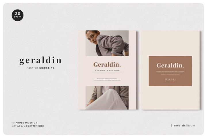 GERALDIN Fashion Magazine