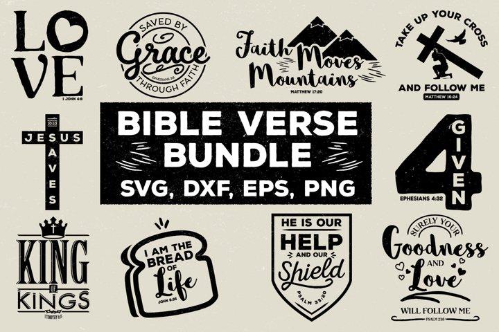 Bible Verse SVG Bundle
