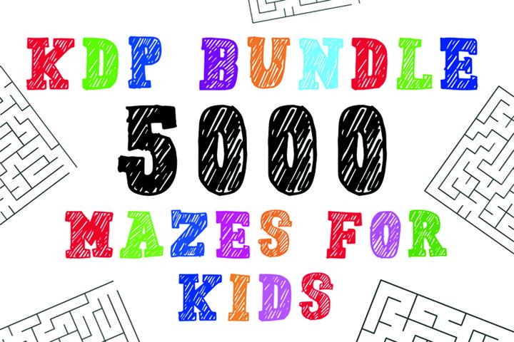 KDP Bundle l 5000 Maze Kids