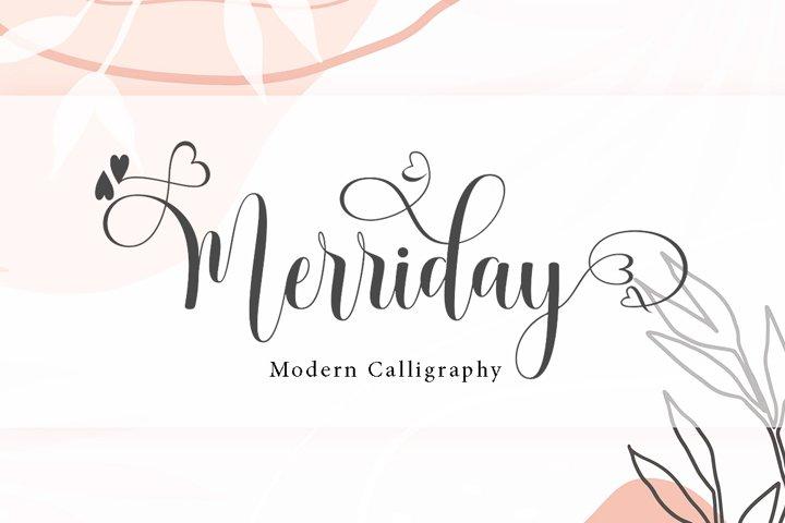 Merriday Script