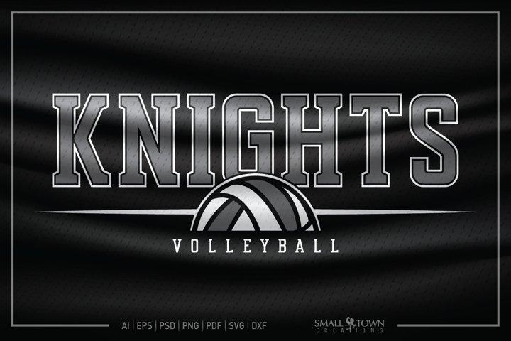 Knights, Knights Volleyball SVG, Volleyball SVG, Knights SVG
