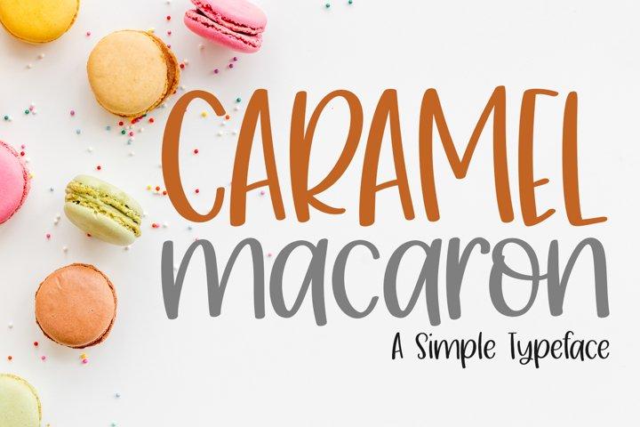 Caramel Macaron