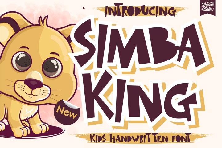SIMBA KING - Quirky Handwritten Font