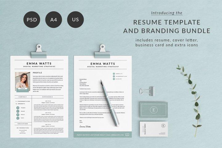 Resume Template & Branding Bundle