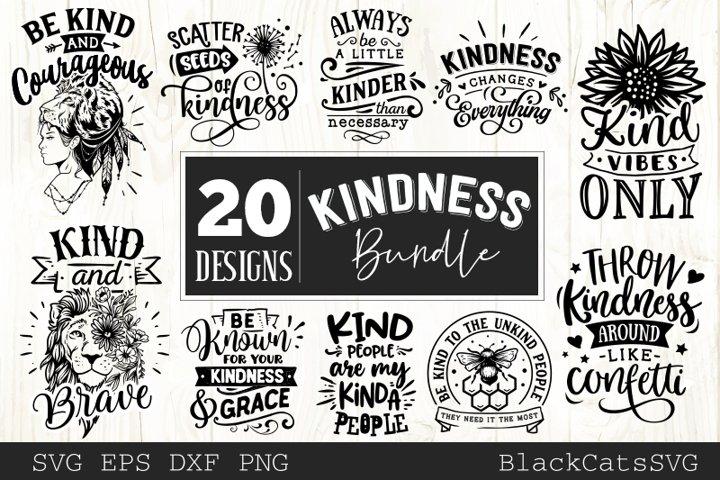 Kindness Bundle SVG bundle 20 designs