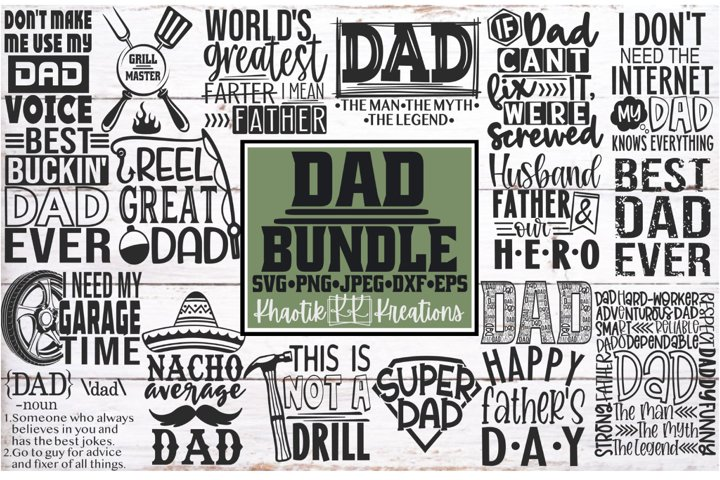 Dad Svg Bundle, Dad Svg, Fathers Day Svg, Funny Dad Svg