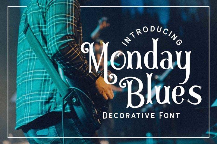 Monday Blues example