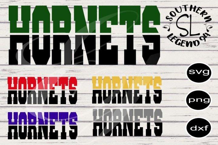 Hornets two toned bundle 5designs png svg dxf