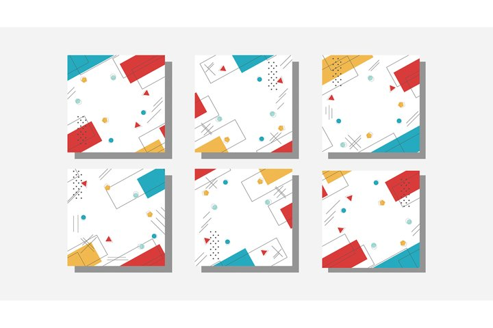 Vector abstract header and banner background. business