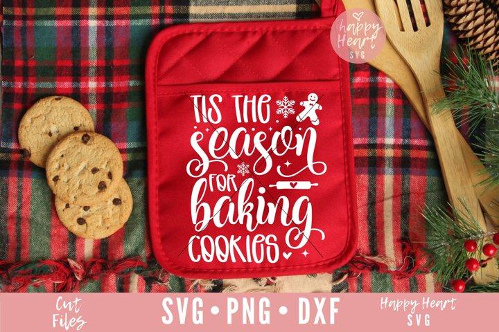 Tis The Season For Baking Cookies SVG