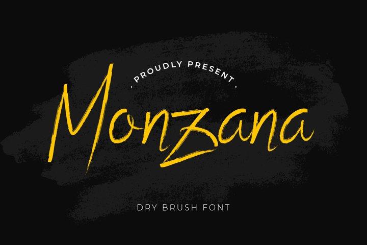 Monzana Brush Handwritten