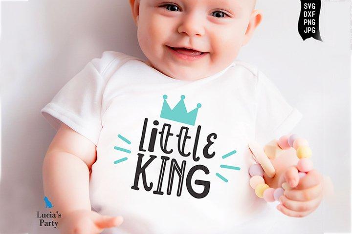Little King SVG DXF PNG JPG