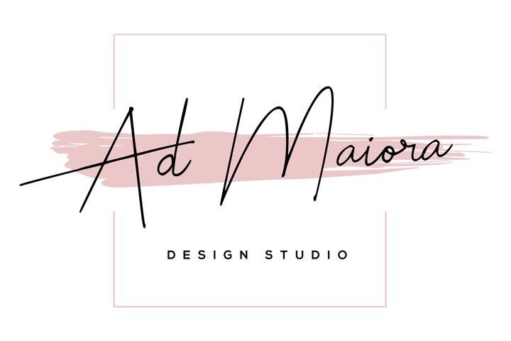 Feminine Logo Design Premade Template