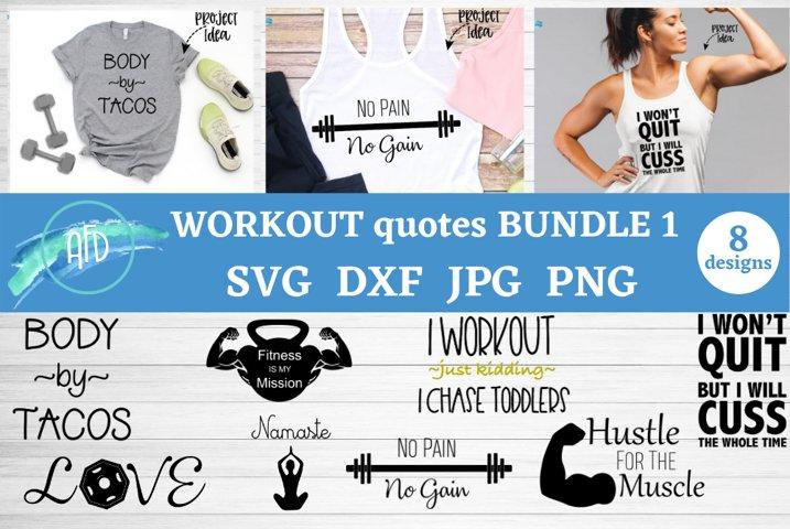 workout shirts bundle funny workout quote svg bundle gym svg