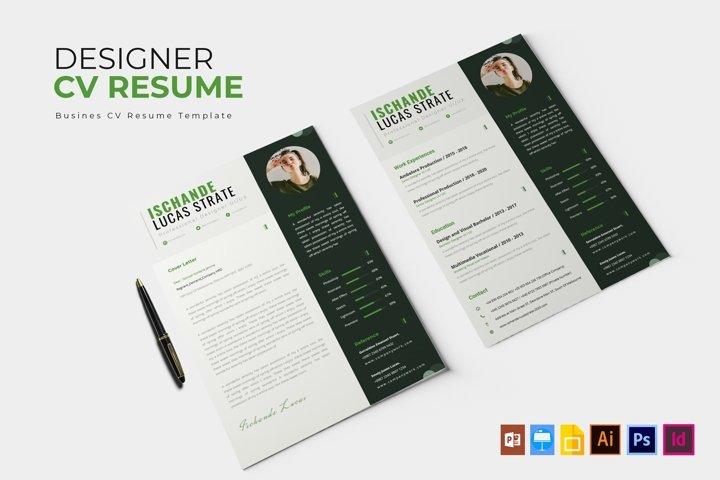 Designer Project | CV & Resume