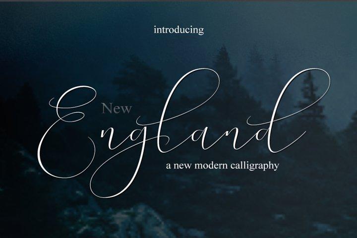 NEW England Script |WEB FONT