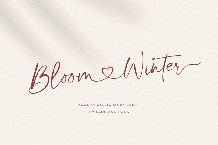 Bloom Winter