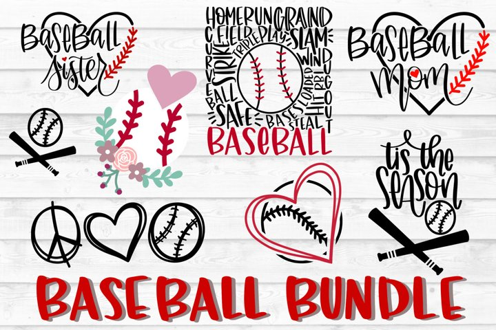 Baseball Bundle SVG, Baseball SVG, PNG, DXF, Baseball Cut