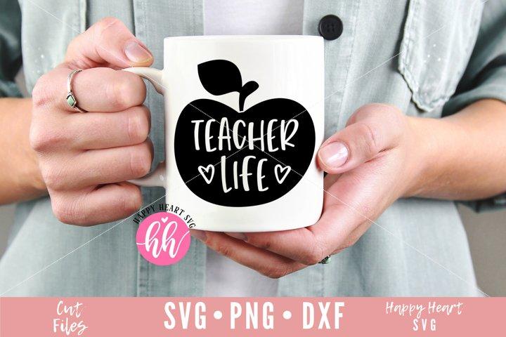 Teacher Life SVG