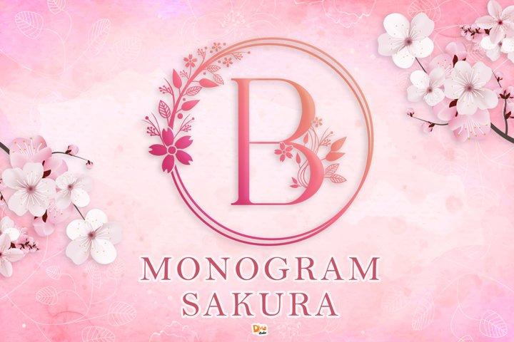 Monogram Sakura Font