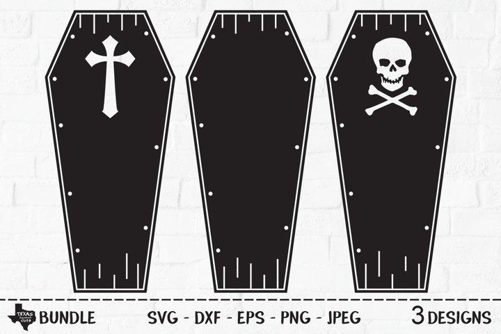Coffin Bundle SVG, Cut File, Halloween Shirt Designs