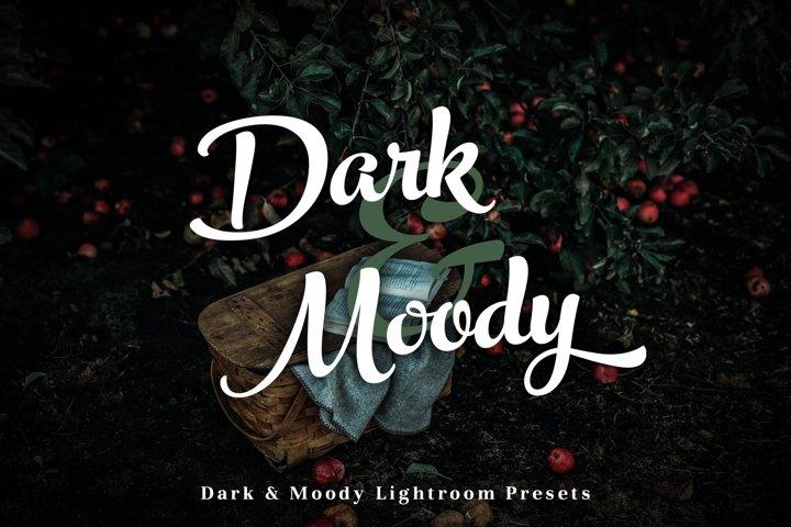 Dark & Moody - Lightroom Presets