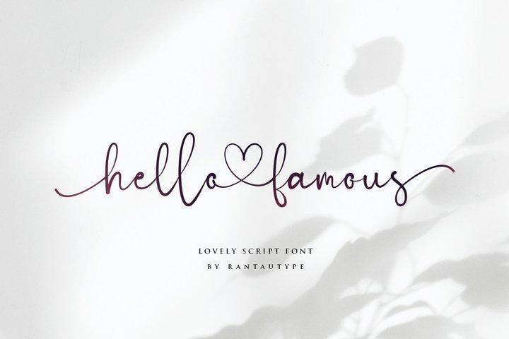 Hello Famous