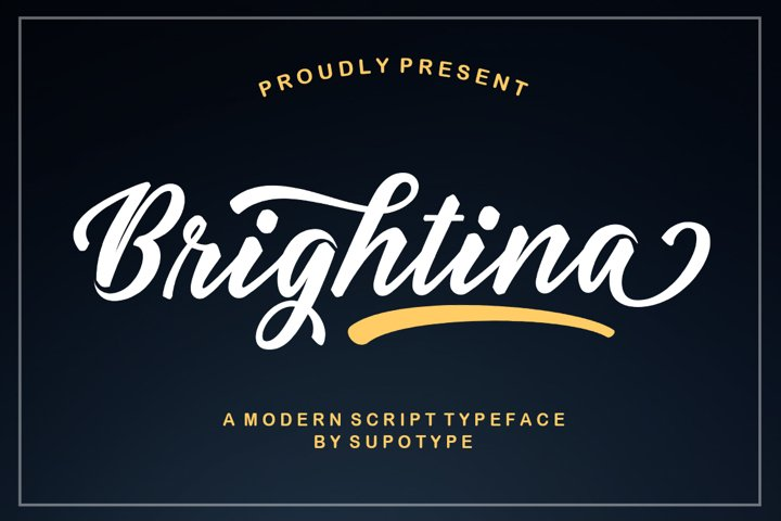 Brightina Script