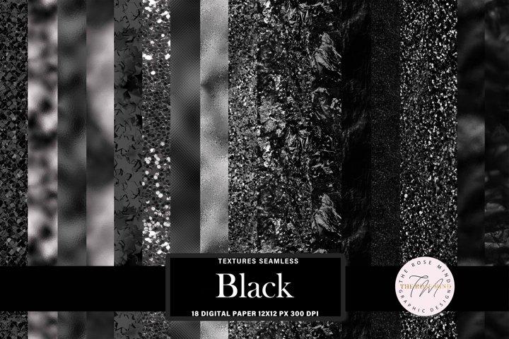 Black seamless textures