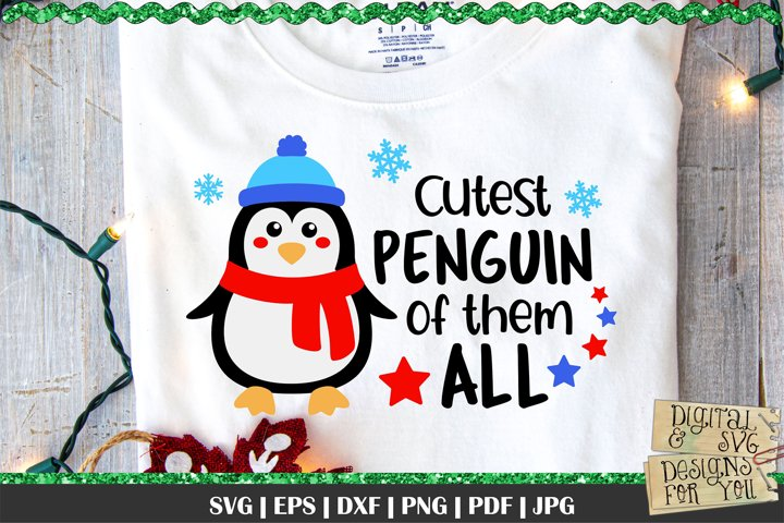 Cutest Penguin of them All svg | Penguin SVG | Cute Penguin