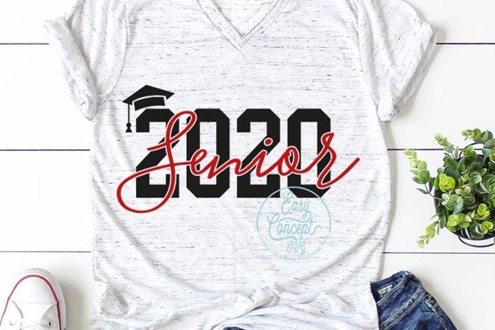 Senior 2020 SVG
