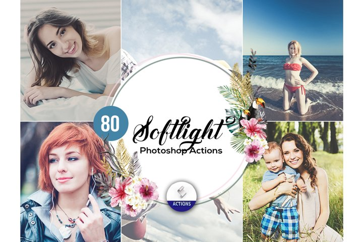 80 SoftLight Photoshop Actions
