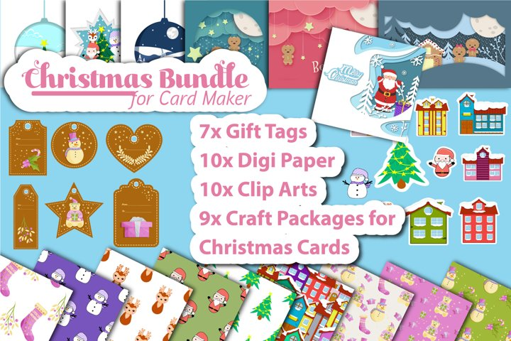 Christmas - Paper Craft Bundle