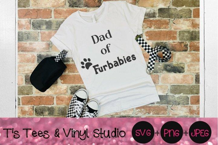 Dad Of Furbabies SVG, Furbabys, Furry Pets, Love, Dog Dad