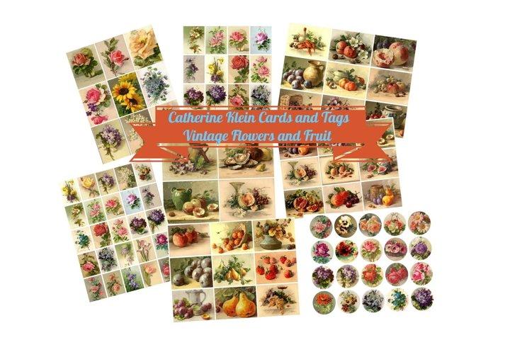 Catherine Klein Vintage Fruit and Flowers #2 Scrapbook Kit