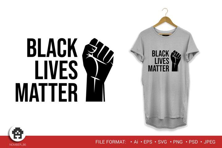 Black lives matter / Black lives matter svg.